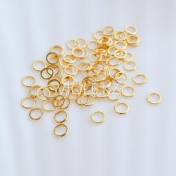 Кольца декоративные, не разъёмные 6 мм