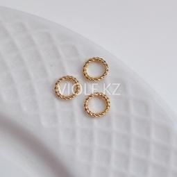 Кольца декоративные, не разъёмные 6 мм., 8 мм..