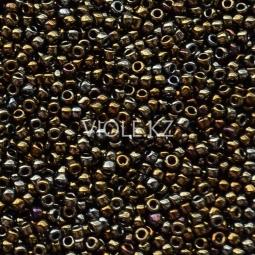 Круглый бисер ТОХО 15/0 Metallic Iris - Brown (83)