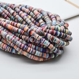 Силиконовые бусины Хейши 6 мм. Разноцветный сет 7