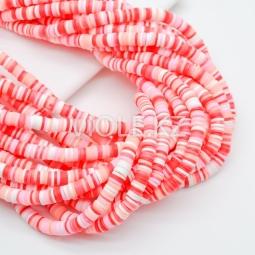 Силиконовые бусины Хейши 6 мм. Разноцветный сет 16