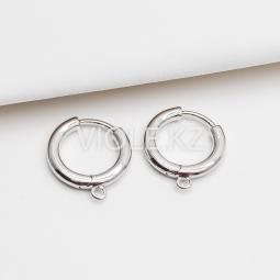 Круглые швензы, 14,4 мм, покрытие родий
