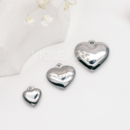 Подвеска сердце (сталь)